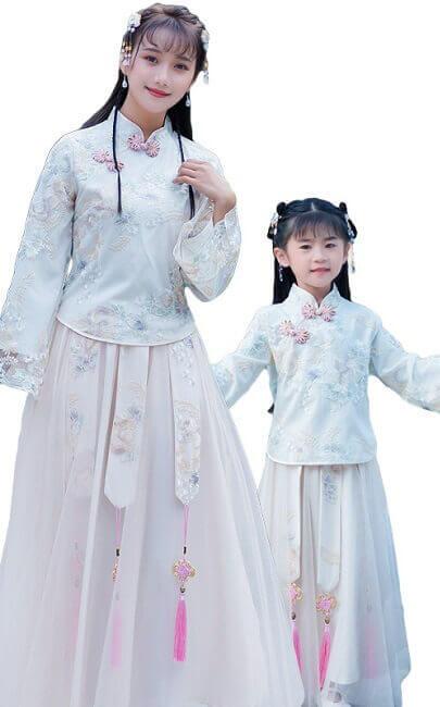 4.5✮- Maxi Dress (Top+Skirt, Cheongsam) - FCAE9442