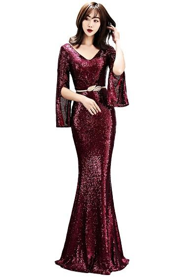 4.5✮- Bodycon Maxi Dress - FKLD1572