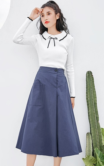 4✮- Midi Skirt - AGFT90571