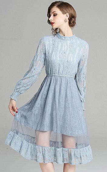 4✮- Knee Dress - AQFT91740