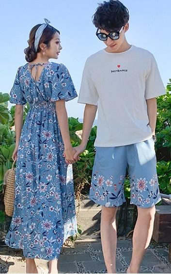 4✮- Couple ( Top / Short / Dress) - BRFT97362