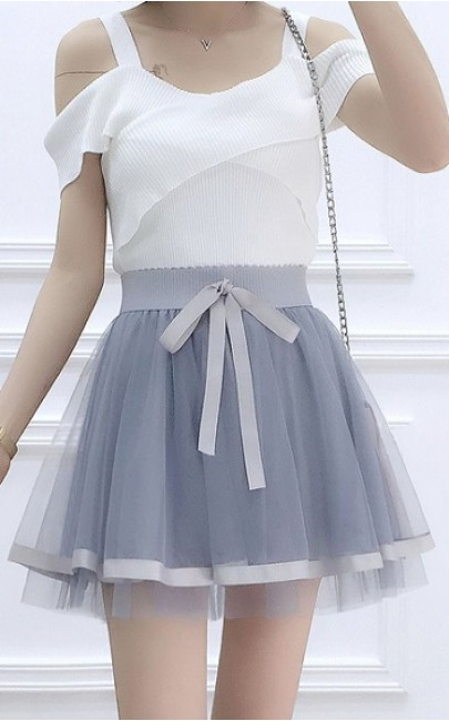 3✮- Mini Skirt - CRFM5137