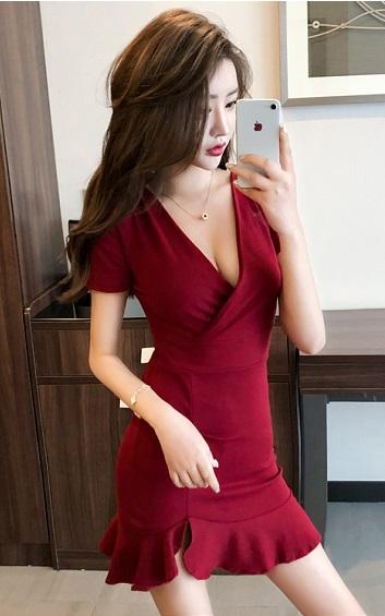3✮- Bodycon Mini Dress - CTFM5608