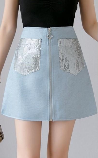 4✮- Mini Skirt - DDFM8623