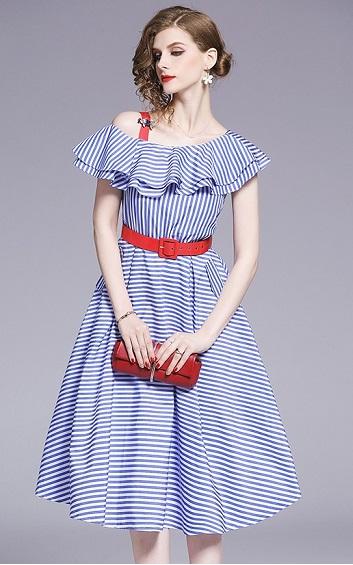 4✮- Midi Dress - EHFM18836 / Y11280