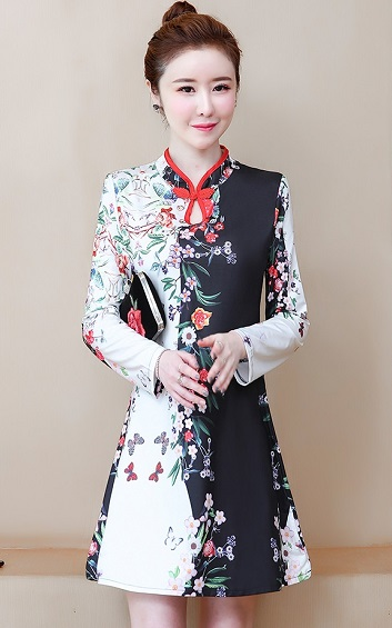 4✮- Dress (Cheongsam) - GJFM37164
