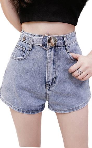 4✮- Denim Shorts - HEFS4541