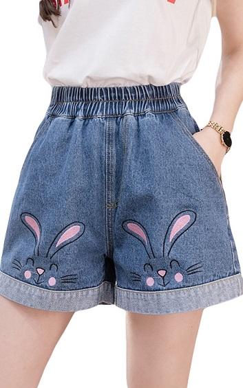 4✮- Denim Shorts - HFFS5032 (Ready Stock)