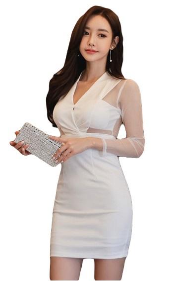 4✮- Bodycon Mini Dress - HFFS5180