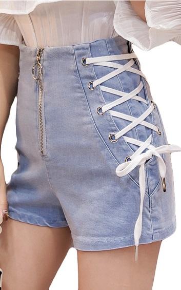 4✮- Denim Shorts - HGFS5403