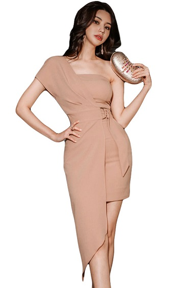4✮- Bodycon Mini Dress - HJFS7123
