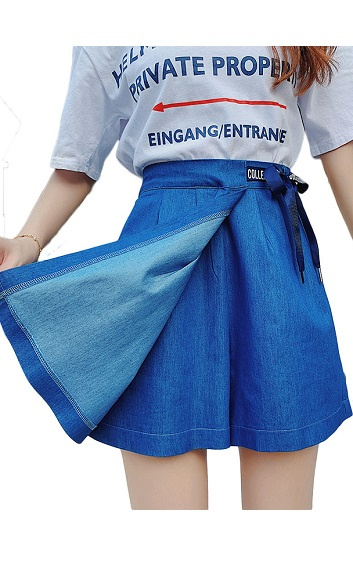 4✮- Denim Shorts - HTFS11835