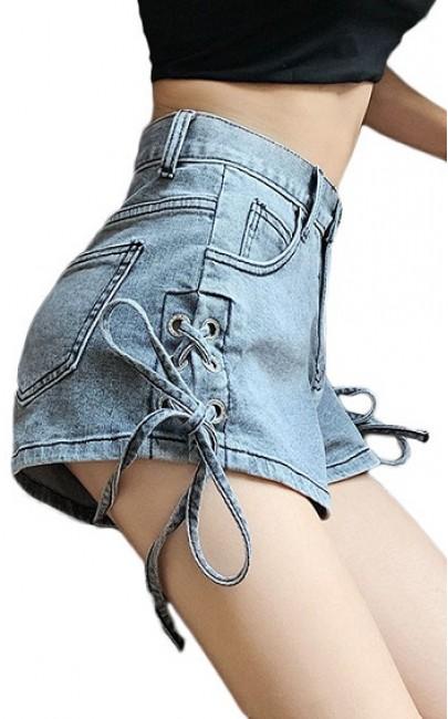 4✮- Denim Shorts - IAFS16332