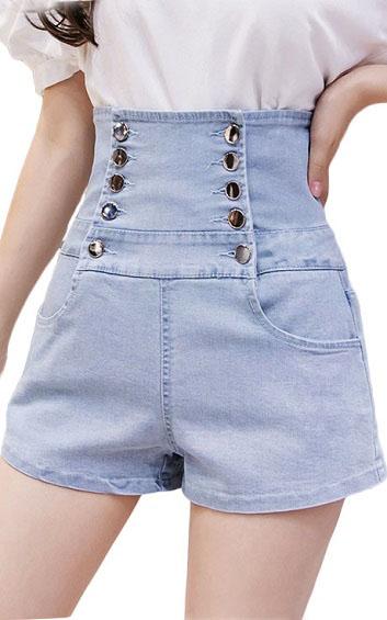4✮- Denim Shorts - IDFS17929