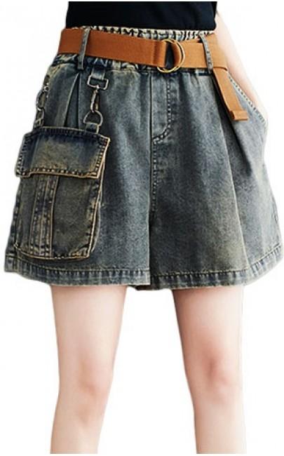 4✮- Denim Shorts - IIFY10018