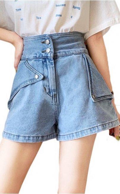 4✮- Denim Shorts - IKFS23516