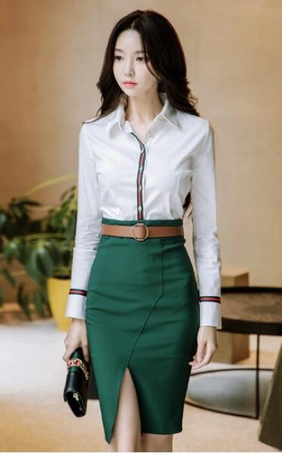 4✮- Top / Skirt - IVFS37151