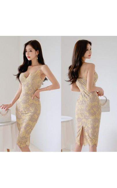 4✮- Bodycon Dress - IZFS41230
