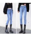 4✮- Elastic Denim Pants - JCFS44504