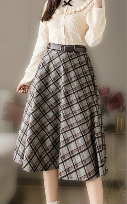 4✮- Knee Skirt - JCFS44954