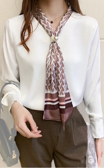 4✮- Casual Shirt (With Tie) - JEFY12461