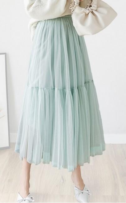 4✮- Knee Skirt (S-L) - JJFS2512