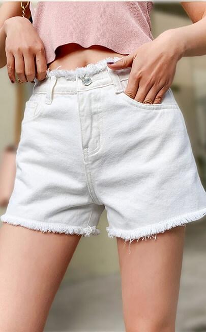 4✮- Denim Shorts - JKFS54095