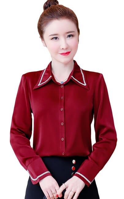 4✮- Office Shirt - JKFS54618