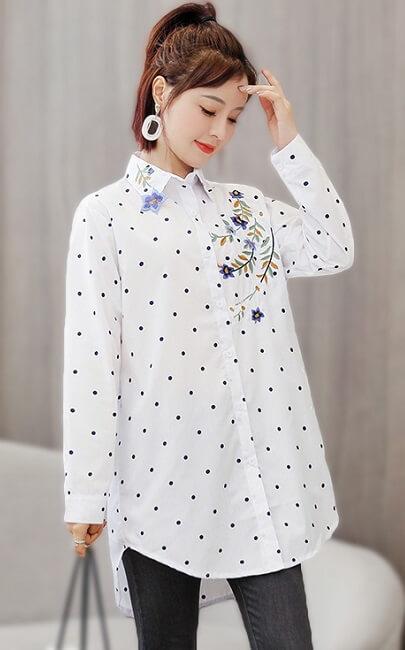 4✮- Long Casual Shirt - JKFY13105