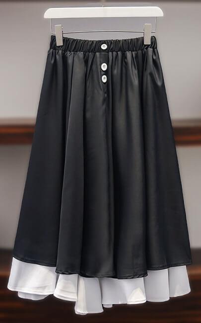 4✮- Knee Skirt - JLFY13226