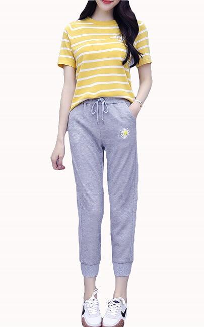 4✮- Set (Top+Pants) - JNFS57063