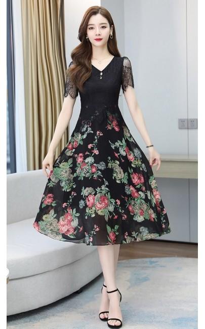 4✮- Knee Dress (Small Cutting) - JPFS62075