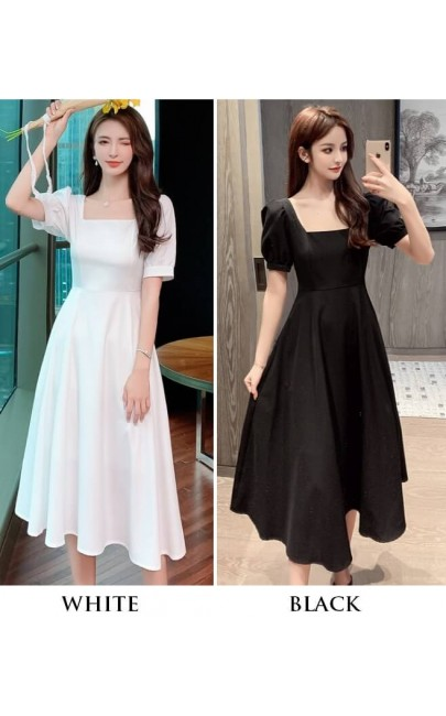 4✮- Knee Dress (Small Cutting) - KDFRS17516