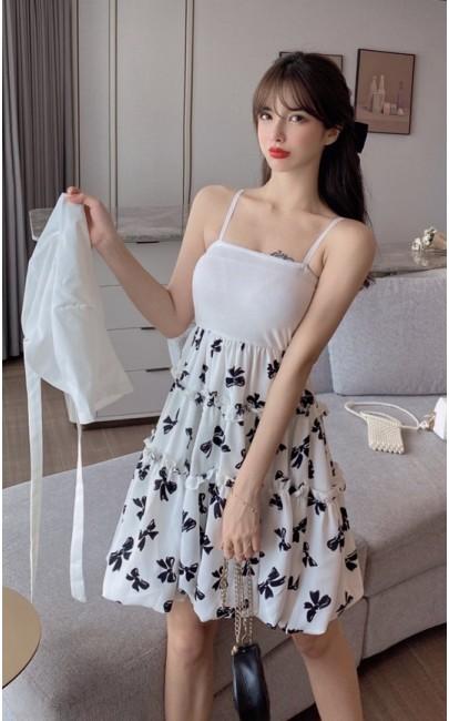 4✮- Dress (With Cardigan) - KIFRS24150