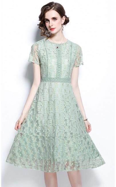4✮- Knee Dress - KJFRS27455