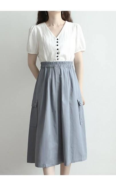 4✮- Knee Skirt (S-L) - KOFRS33314