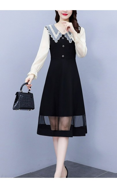 4✮- Knee Dress - KQFRS37126