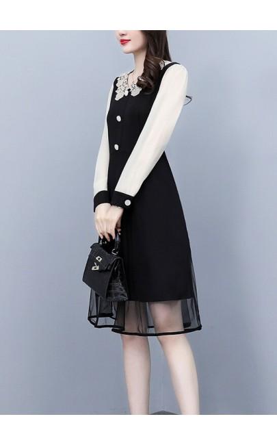 4✮- Knee Dress - KQFRS37127