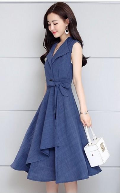 4✮- Knee Dress - XVFT73523 / S21079