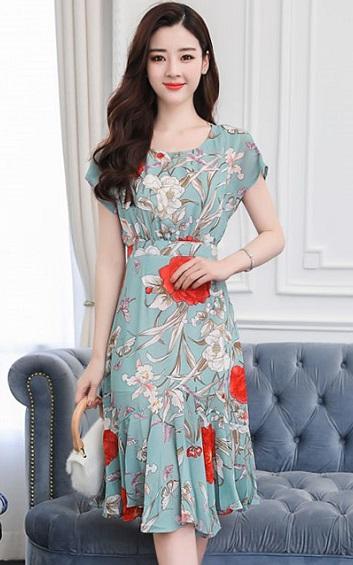 4✮- Knee Dress (M-3XL) - ZIFTY6659