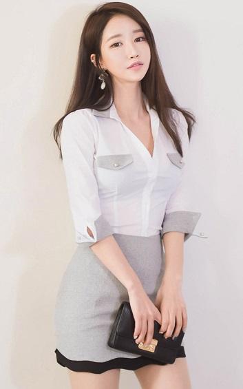 4✮- Bodycon Dress (Top/Skirt) - ZTFT86109