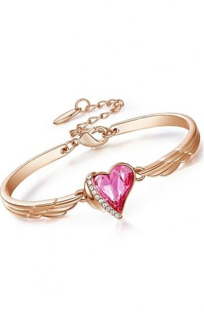 Crystal - Heart Angel Bracelet - CDJC1319
