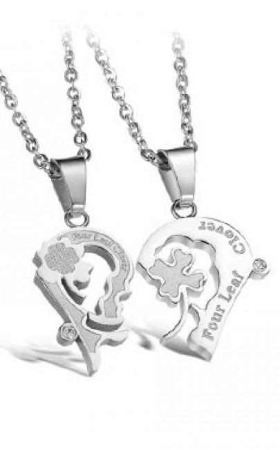 Couple Necklace (1 Set) - SSJ003
