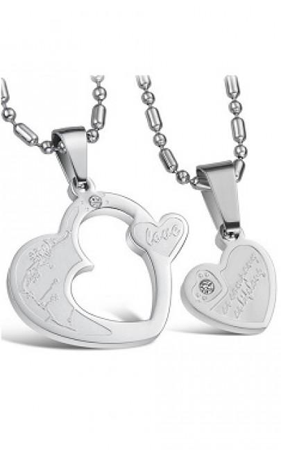 Couple Necklace (1 Set) - SSJ001