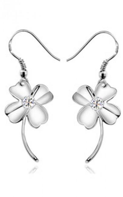 Silver - Earring - YJJ021