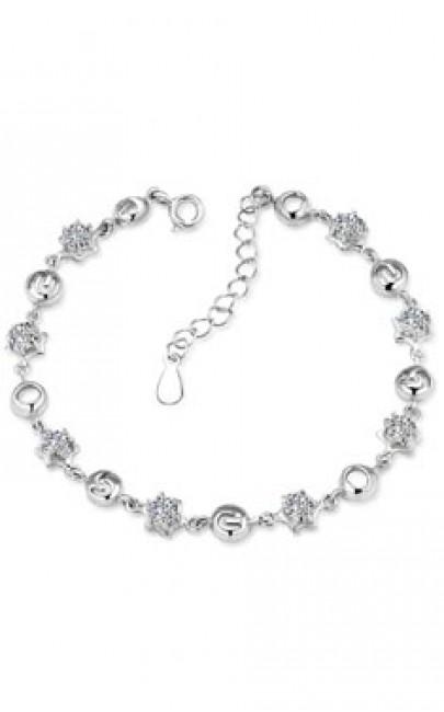 Silver - Bracelet - YJJ040