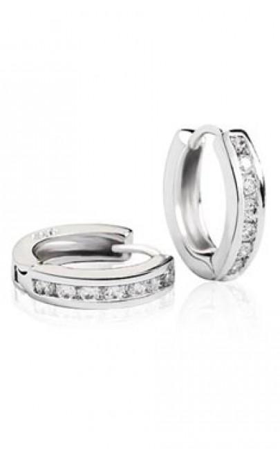 Silver - Earring - YJJ041