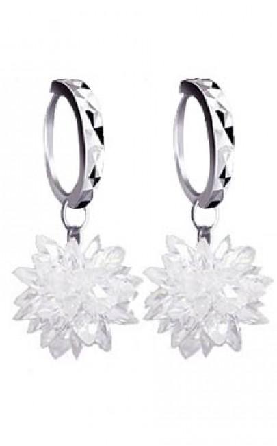 Silver - Earring - YJJ046
