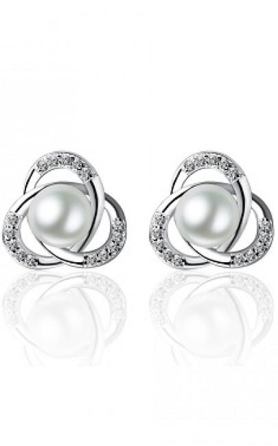 Silver - Earring - YJJ056