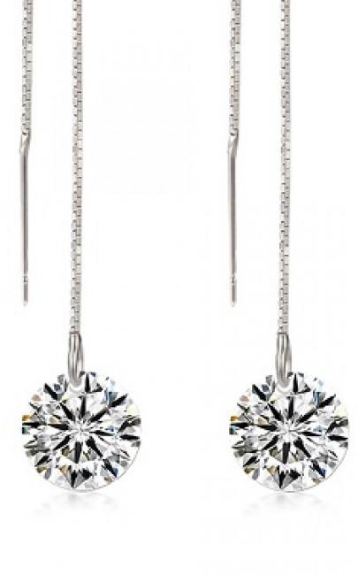 Silver - Earring - YJJ061